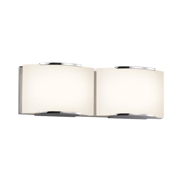 Vargas 2-Light Bath Bar by Orren Ellis