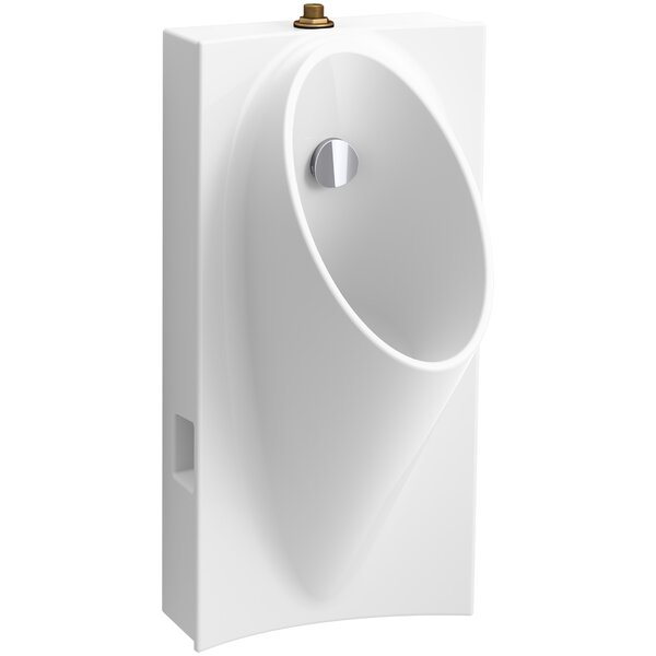 Steward Hybrid High-Efficiency Urinal with 3/4 Top Spud by Kohler