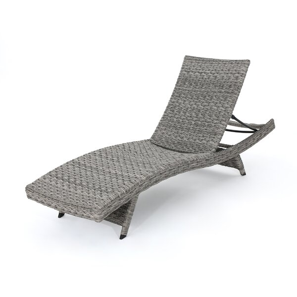 Hershman Armless Chaise Lounge by Highland Dunes