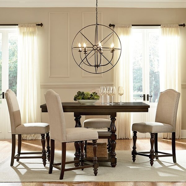 Baxton Studio 5 Piece Counter Height Dining Set by Wholesale Interiors