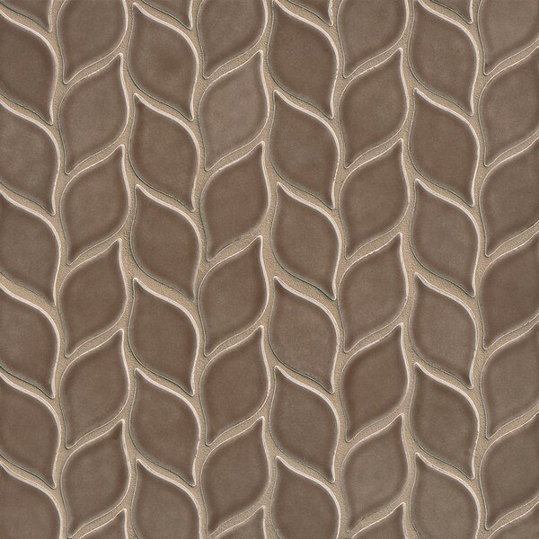 Park Place Filiole Mosaic Tile in Brown by Grayson Martin