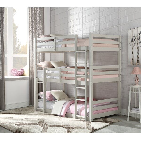 Fuhrman Twin over Twin over Twin Triple Bed by Harriet Bee