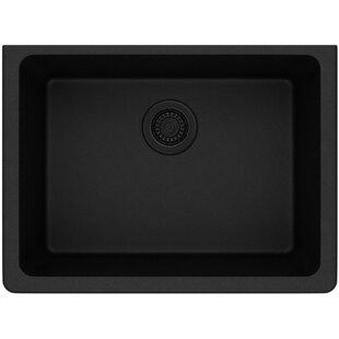 Quartz Classic 25 L x 19 W Undermount Kitchen Sink ByElkay