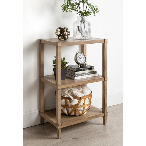 Gretchen Free-Standing Wooden Standard Bookcase by Breakwater Bay