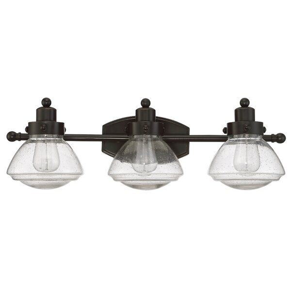 Chilton Palladian Bronze 3-Light Vanity Light by L