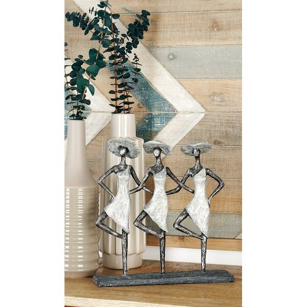 Manglo Rustic 3 Dancers Figurine by Bungalow Rose