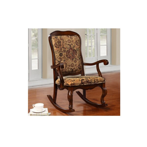 Rutter Rocking Chair By Fleur De Lis Living