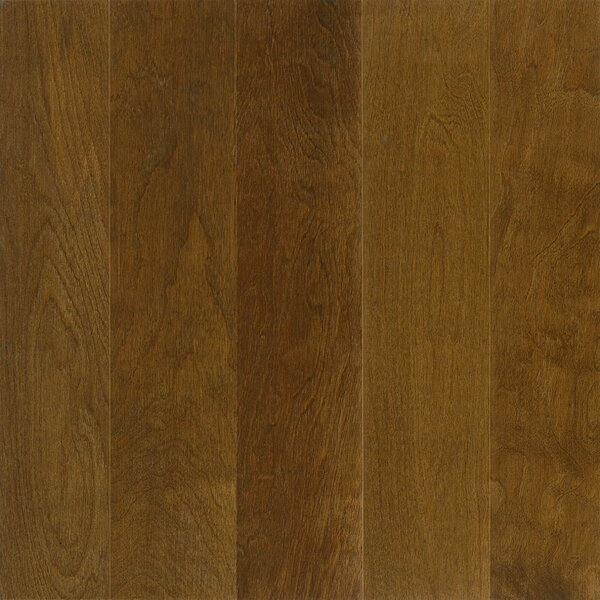 5 Engineered Birch Hardwood Flooring in Dark Forest by Wildon Home ®