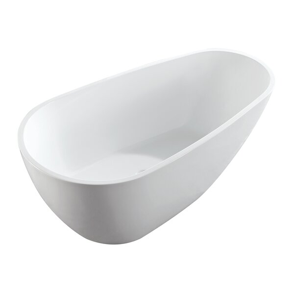 Poseidon Freestanding Soaking Bathtub by Eisen Home