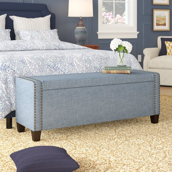 Quinones Upholstered Storage Bench by Alcott Hill