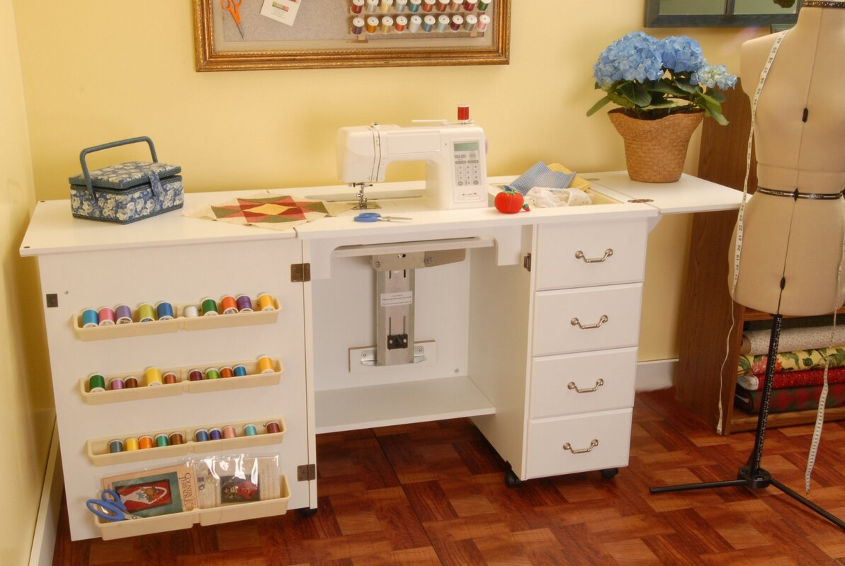 Arrow Sewing Cabinets Norma Jean Wooden Sewing Table