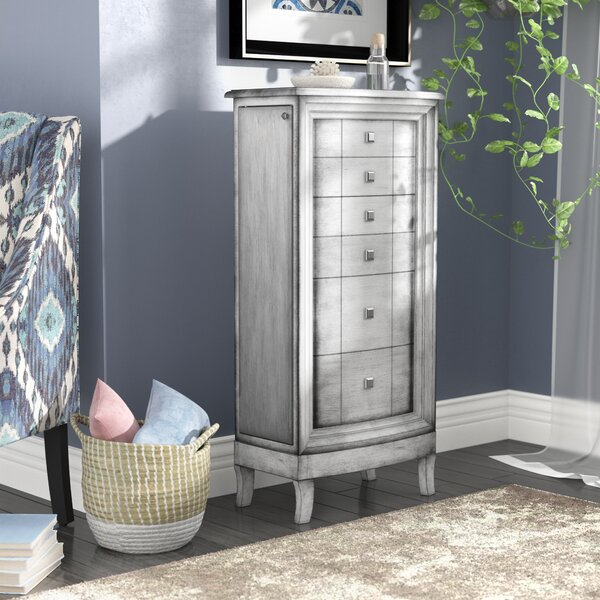 Freya Jewelry Armoire by Mistana