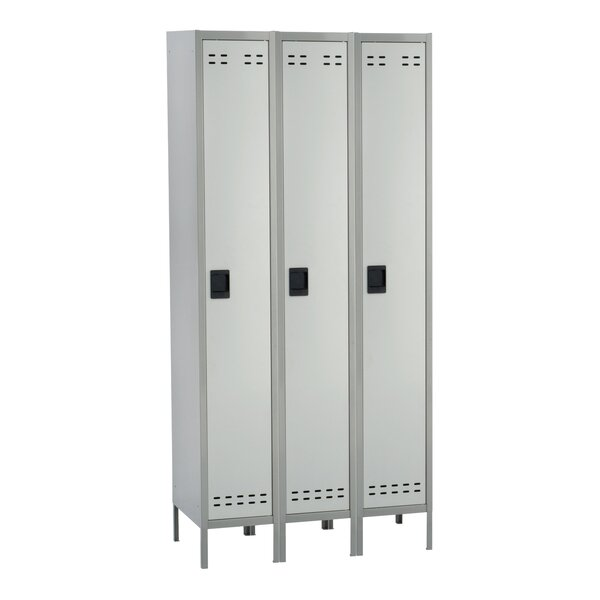1 Tier 3 Wide School Locker by Safco Products Comp