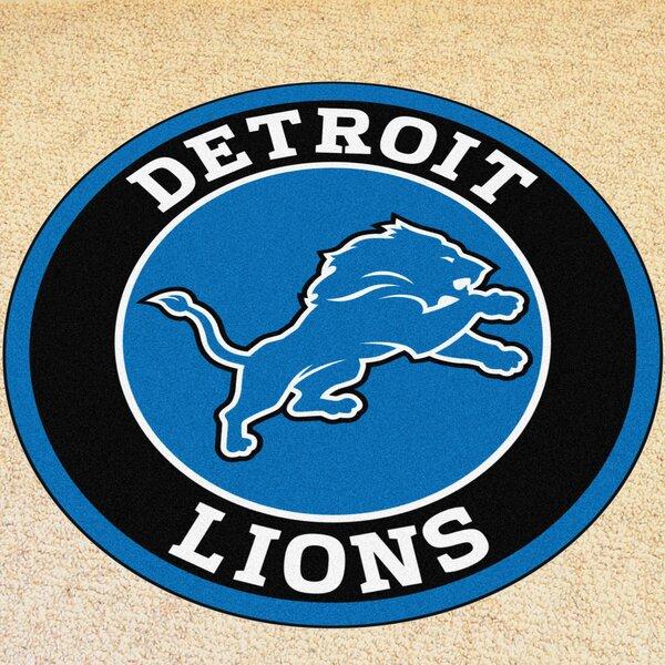 NFL Detroit Lions Roundel Mat by FANMATS
