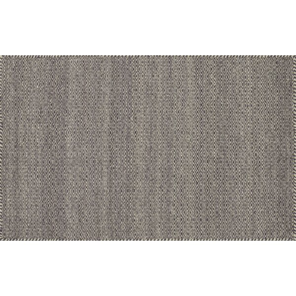 Quays Hand-Woven Plum Area Rug by Gracie Oaks