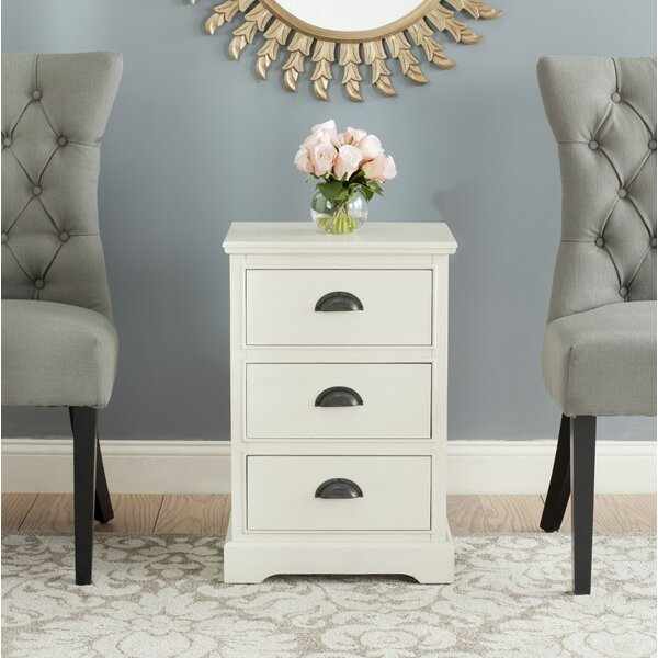 End Table With Storage by Alcott Hill