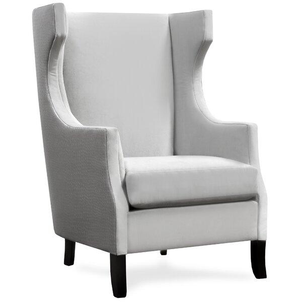 Dormody Wingback Chair by Canora Grey