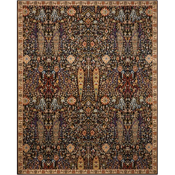 Charleson Navy Area Rug by Astoria Grand