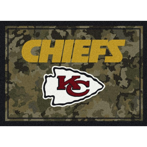 NFL Camo Area Rug by My Team by Milliken