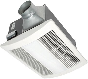 WhisperWarm 110 CFM Bathroom Fan/Heat/Light Combination by Panasonic®