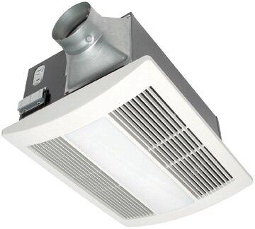 WhisperWarm 110 CFM Bathroom Fan/Heat/Light Combin