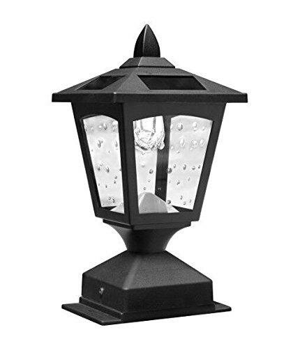 Adler Solar Powered 1-Light Pier Mount Light (Set of 2) by Winston Porter