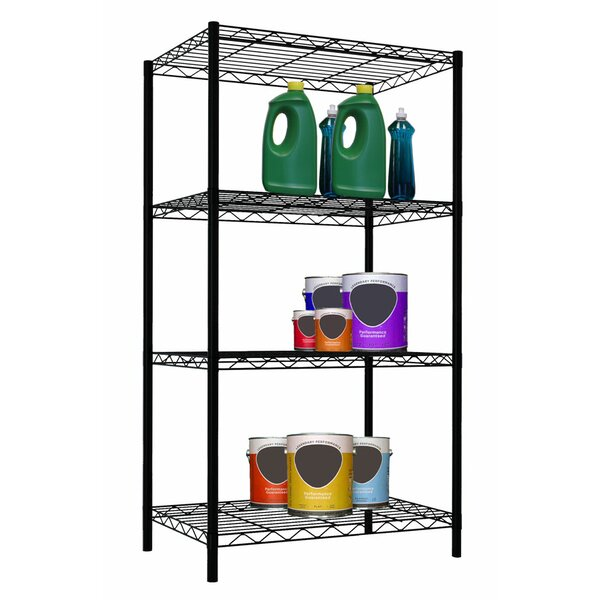 4 Tier Steel Wire Shelf by Home Basics