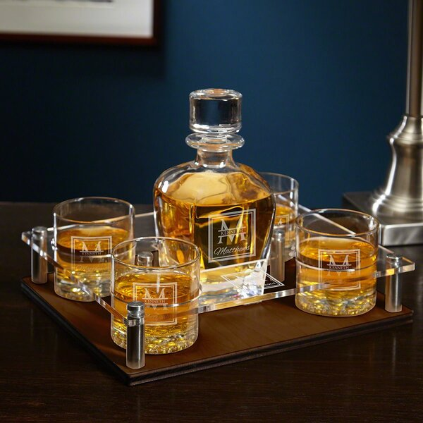 Drew 6 Piece Beverage Serving Set by Darby Home Co