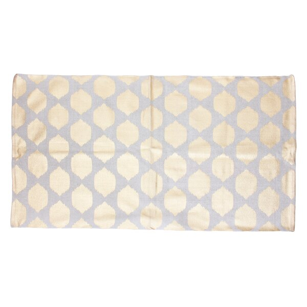 Isabelle Yellow/Gray Area Rug by Thro by Marlo Lorenz