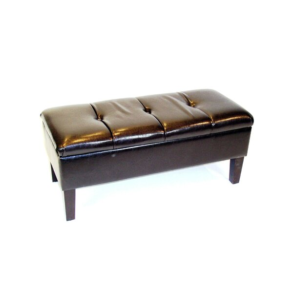 Review Melina Upholstered Storage Bench