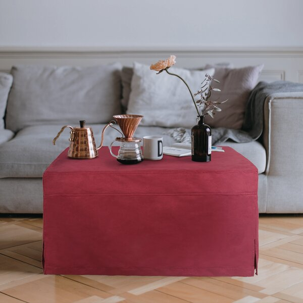 Box Cushion Ottoman Slipcover By Symple Stuff