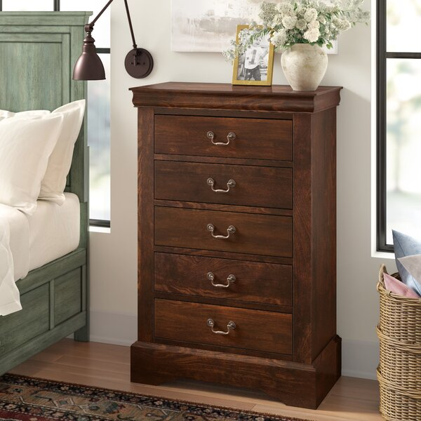 Vitiello 5 Drawer Chest by Charlton Home