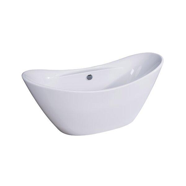 Siena 29 x 68 Freestanding Soaking Bathtub by Dyconn Faucet