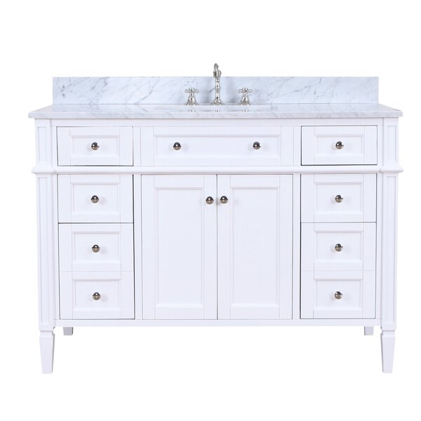 Hailey 48 Single Bathroom Vanity Set by Kitchen Bath Collection