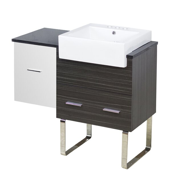 Hindman 37 Single Bathroom Vanity Set by Royal Purple Bath Kitchen
