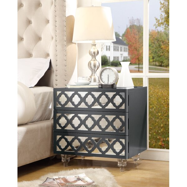 Lovitz 3 Drawer Nightstand by Brayden Studio
