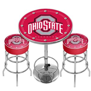 Ohio State University Game Room Combo by Trademark Global
