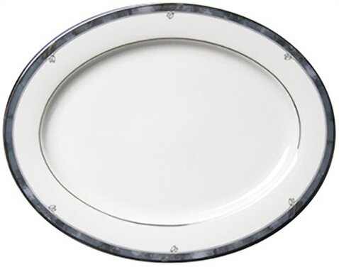 Sentiments Moonstone Platter by Nikko Ceramics