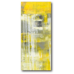'Mellow II' Painting Print on Wrapped Canvas by Latitude Run
