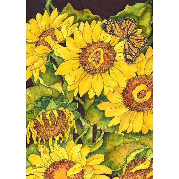 Sunflower Delight Garden flag by Toland Home Garden