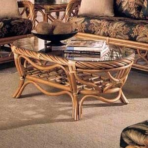 3300 New Twist Coffee Table By South Sea Rattan