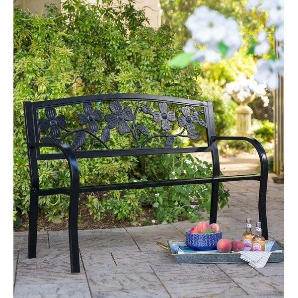 Dogwood Steel Garden Bench by Plow & Hearth