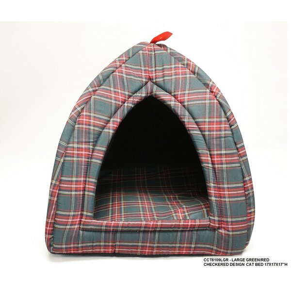 Checkered Cat Bed by Desti Design