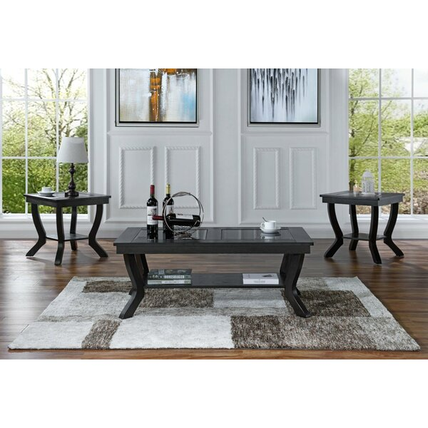 3 Piece Coffee Table Set by Alcott Hill