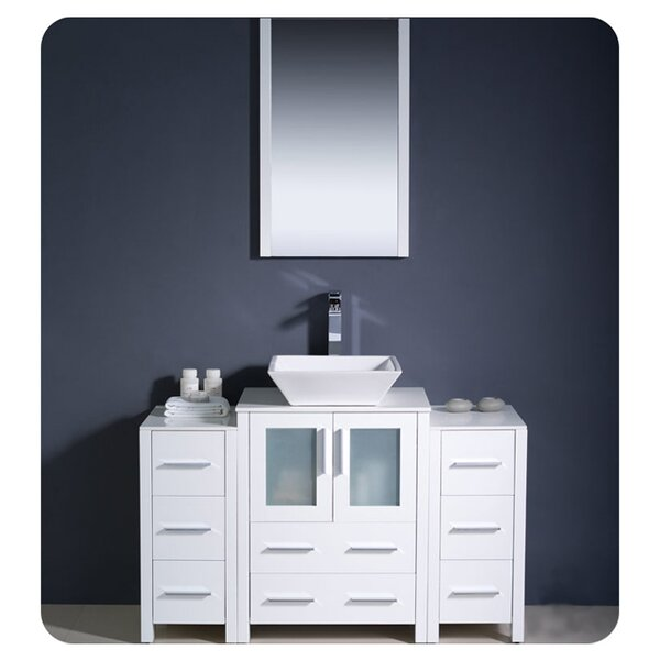 Torino 48 Single Bathroom Vanity Set with Mirror by Fresca