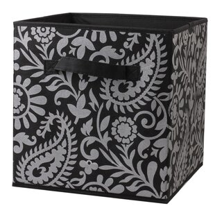 Reviews Fabric Storage Bin By Home Basics