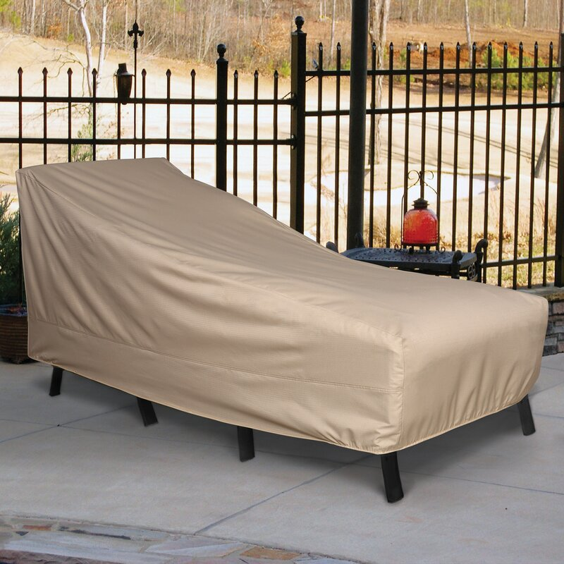 Breathable Patio Chaise Lounge Covers