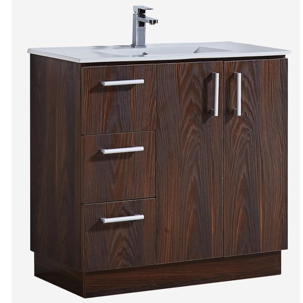 36 Single Bathroom Vanity Set by InFurniture