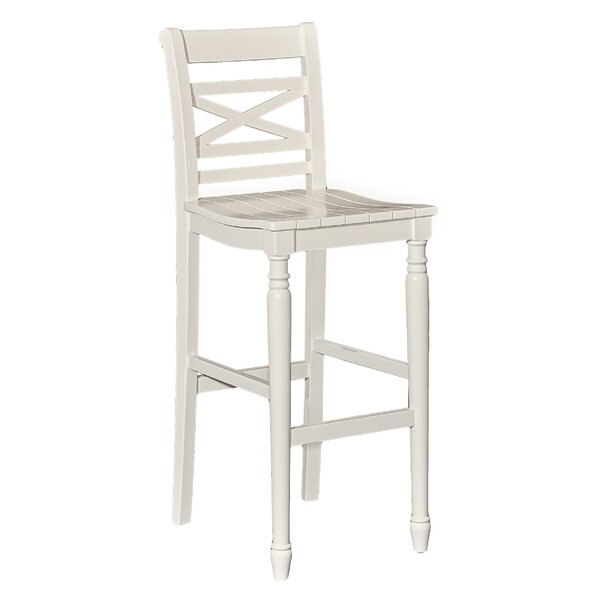 Hopewell 45.25 Bar Stool by Rosecliff Heights