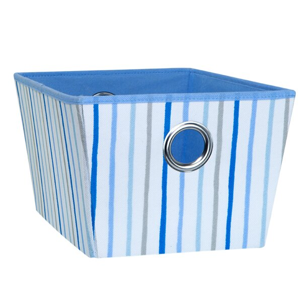 Painterly Stripe Fabric Cube or Bin by Laura Ashley Home